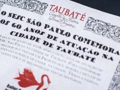 """Exposição """"Taubaté: Caminhos da História, parada obrigatória"""""""