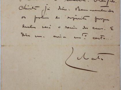 Cartas inéditas de Lobato vêm a público
